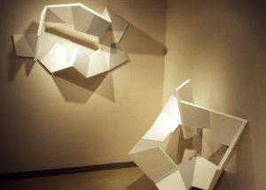 Untitled, 1985, Acrylic paint on wood