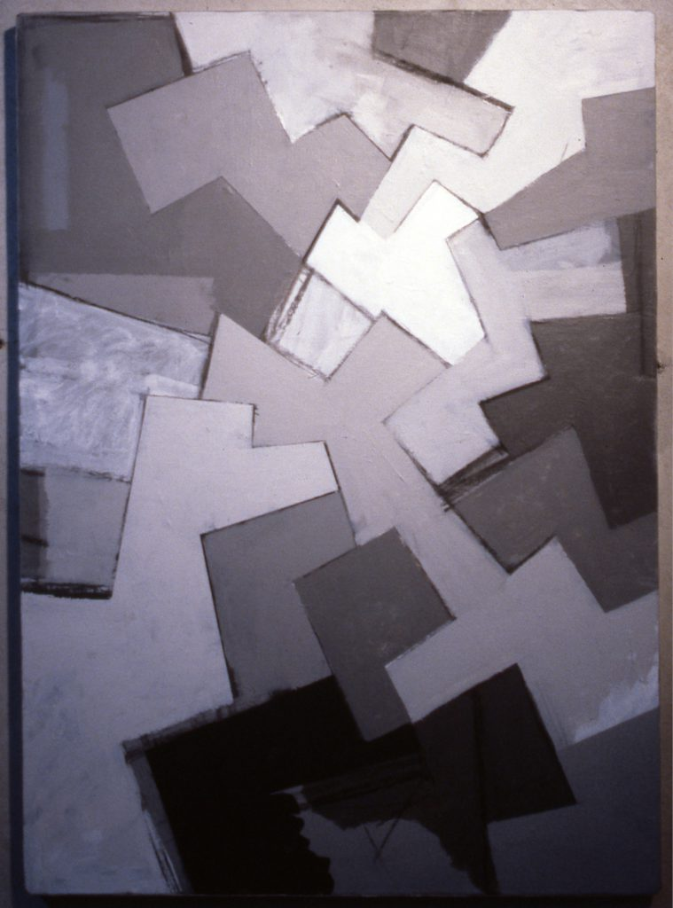 Untitled, 1987, Acrylic paint on canvas