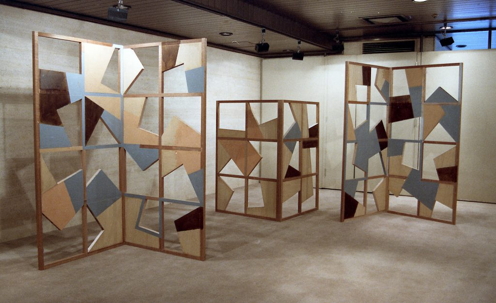 Untitled, 1988, Acrylic paint on wood